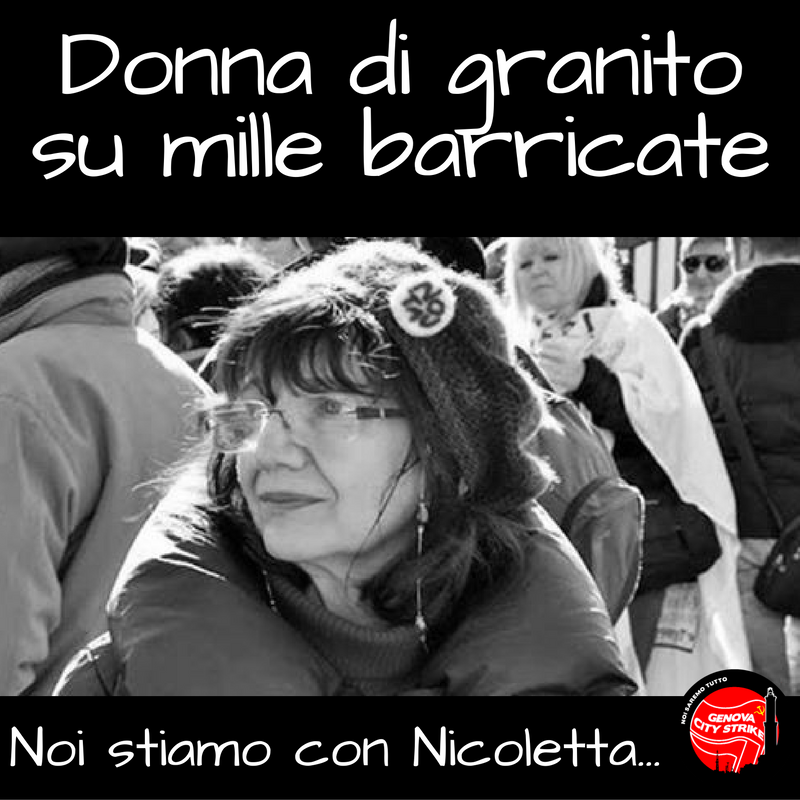 Donna d'acciaio su mille barricate...