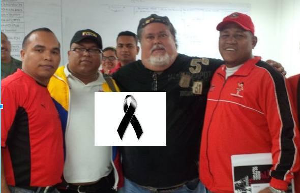 Rexol Acevedo. Leader sindacale chavista. Ucciso a colpi di arma da fuoco durante un blocco stradale dell'opposizione che cercava di ribargli l'auto