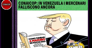 Venezuela. I mercenari falliscono ancora. Comunicato CONAICOP