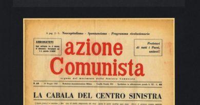 Giorgio Amico,  Azione comunista. Da Seniga a Cervetto (1954-1966)