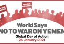 25 gennaio ore 16 e 30. No alla guerra in Yemen. Presidio a Genova