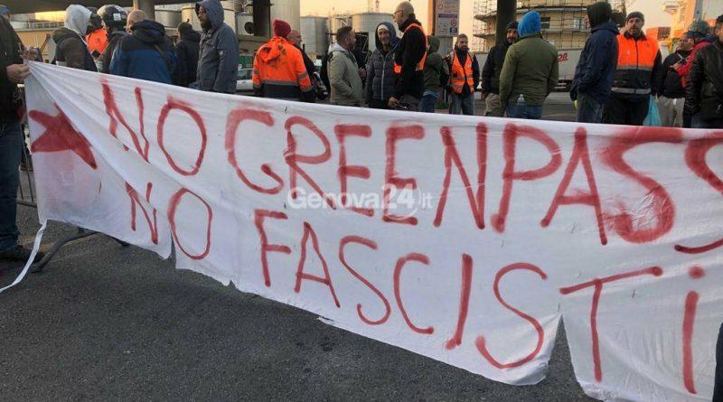 No green pass e no ai ricatti. Il Porto di Genova si ferma. La posizione di USB